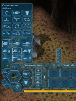 New GUI and Commander interface
